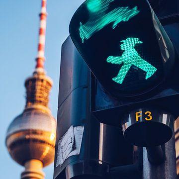 Berlin – Ampelmännchen sur Alexander Voss