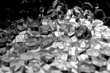 Hexagon serie - Kristal Licht van WijlensAanDeWand