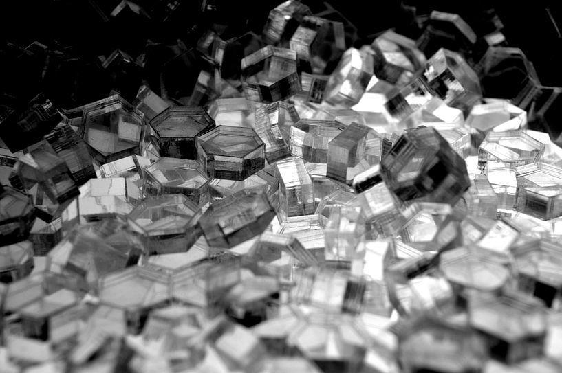 Serie Hexagon - Kristall Licht von WijlensAanDeWand
