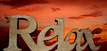 Relax zonsondergang