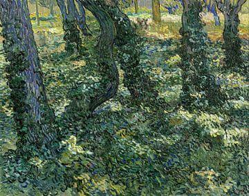 Unterholz - Vincent van Gogh von 1000 Schilderijen