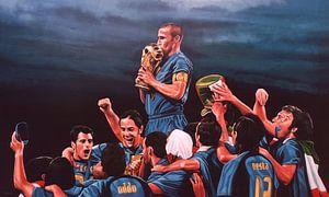 Italia Die Blues-Malerei
