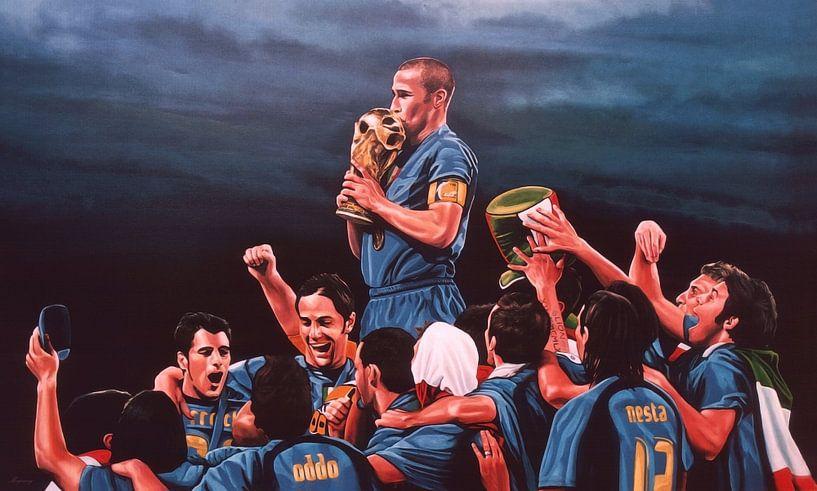 Italia Die Blues-Malerei von Paul Meijering