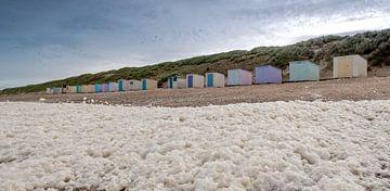 Meerschaum-Strandhäuser Pole 12 Texel von Ronald Timmer