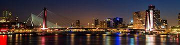 Skyline Rotterdam von Willem Vernes