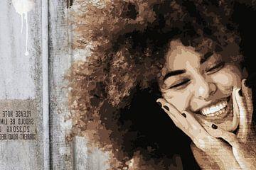 Lächeln von Mirjam Duizendstra