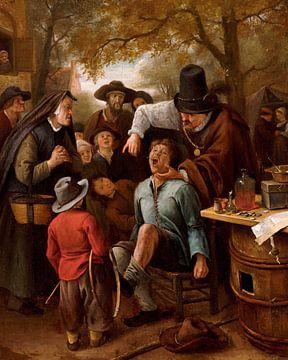 Der Zahnzieher, Jan Steen