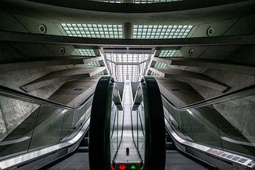 Entrance to the spaceship sur Marcel  van de Gender