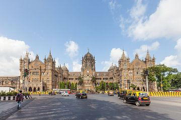 Terminus Chhatrapati Shivaji à Mumbai sur Jan Schuler