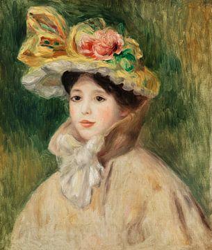 Renoir, Frau mit einer Caprice (1890er Jahre)
