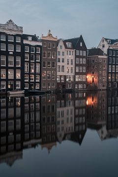Amsterdam - canalhouses sur Thea.Photo