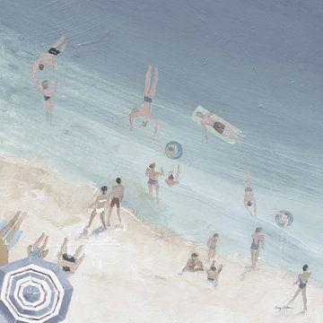 Cool Blue Beach Crop, Avery Tillmon van Wild Apple