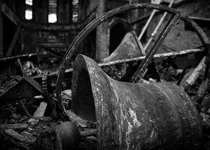 Kerk in as, afgebrand