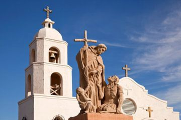 Mission in Yuma, Arizona von Peter Schickert