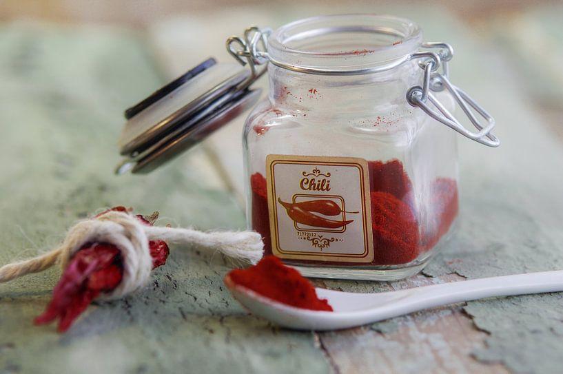 Versgemalen pepers voor kruiden van Tanja Riedel