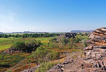 Ubirr Rock, Kakadu-Nationalpark, Australien von Liefde voor Reizen