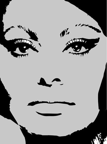Sophia Loren italienische Schauspielerin von sarp demirel