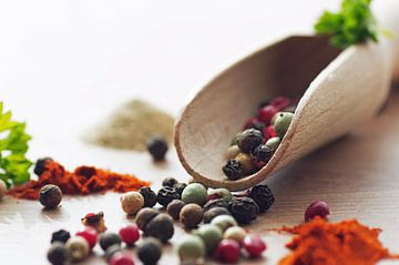 Kleurrijke peper en specerijen van Tanja Riedel