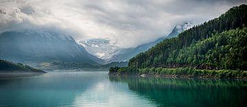 Panoramagletscher in Norwegen von Ellis Peeters