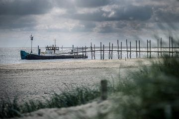 De steiger van Sil Texel von Jitske Cuperus-Walstra