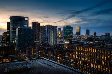 Hochhäuser in Rotterdam von Roy Poots