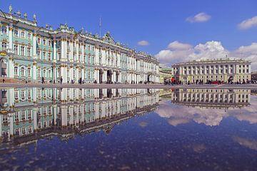 Hermitage St. Peterburg van Patrick Lohmüller