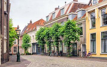 Street view in Utrecht, Netherlands. van Lorena Cirstea