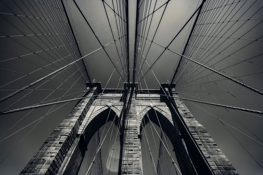 BROOKLYN BRIDGE NEW YORK van Nico Garstman