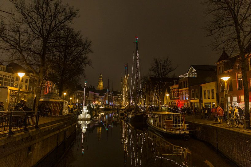 WinterWelvaart Hoge Der A Groningen van Sander de Jong