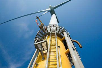 Windturbine op zee van Menno Mulder