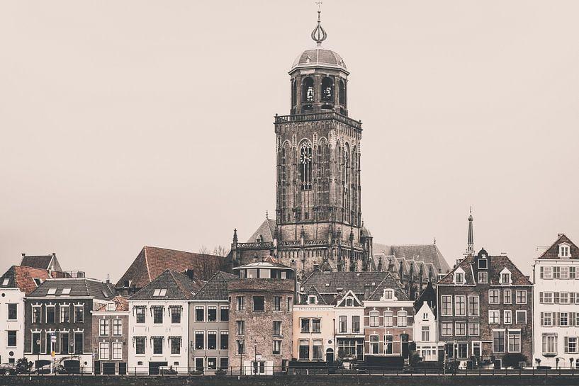 Stadsgezicht Deventer (3c) van Rob van der Pijll