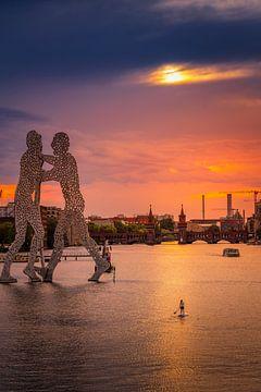 Berlin Molecule Man von Iman Azizi