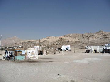 'Woestijnwinkeltjes', Luxor- Egypte van Martine Joanne