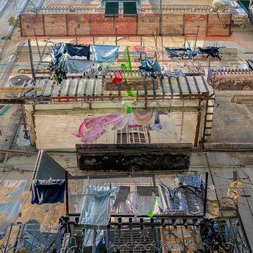 Napoli - Quartieri Spagnoli III van Caroline Boogaard
