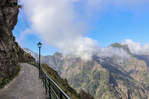 Lopen door de wolken op Madeira