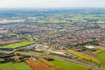 Luchtfoto van Etten-Leur in Noord-Brabant van