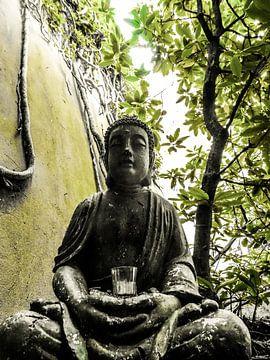 Beierse Boeddha van Josef Rast Fotografie