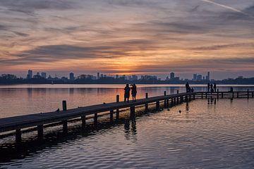 Kralingse Plas Rotterdam van EdsCaptures fotografie