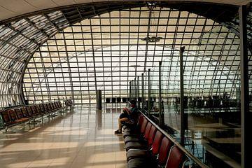 Vertrekhal Bangkok Airport