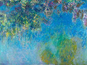 Blauweregen, Claude Monet - ca. 1920 von