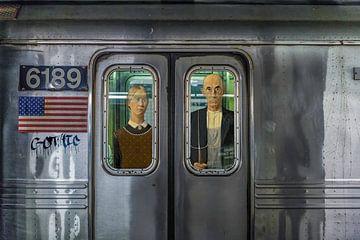 American Gothic auf Tournee von Rene Ladenius Digital Art