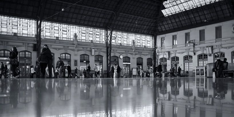 Station València-Nord (BW) van Rob van der Teen