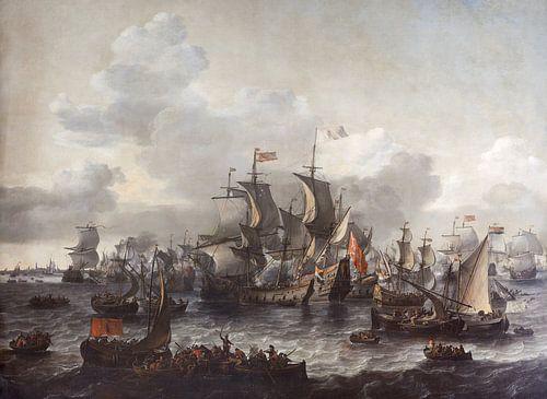 De slag op de Zuiderzee van Meesterlijcke Meesters