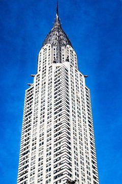 Empire State Building in Manhattan, New York City, USA van WorldWidePhotoWeb