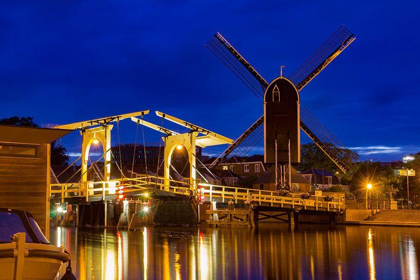 Rembrandtbrug, Leiden van Diederik van Duijn