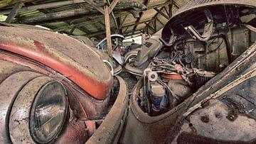 Volkswagen Kever van Adri van Daal  Photo-Art