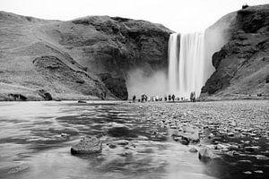 IJslandse waterval - Skógafoss van