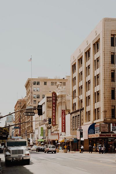 Downtown Los Angeles IV van Pascal Deckarm