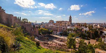 Centre historique de Malaga Panorama sur Gerard van de Werken
