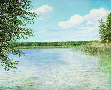 Lac près de Muencheberg
